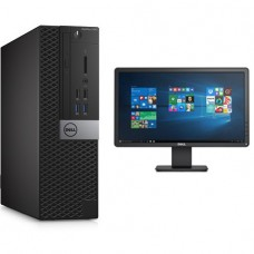 DELL I5 6TH GEN PC WITH 19 WIDE LED MONITOR