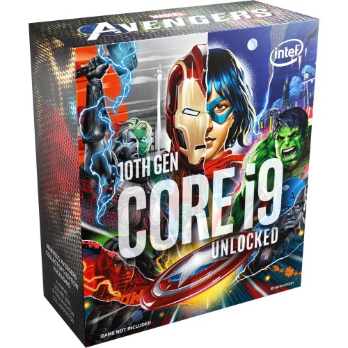 INTEL CORE I7-10700K MARVEL'S AVENGERS LIMITED EDITION PROCESSOR 16MB CACHE, 3.80 GHZ